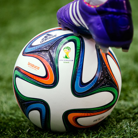 World Cup 2014 adidas football brazuca_dezeen 1sq