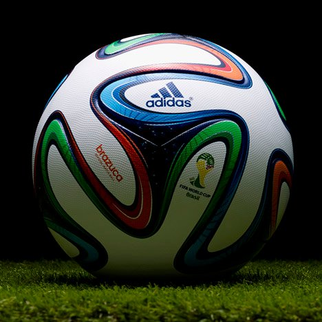Brazuca World Cup Football by Adidas