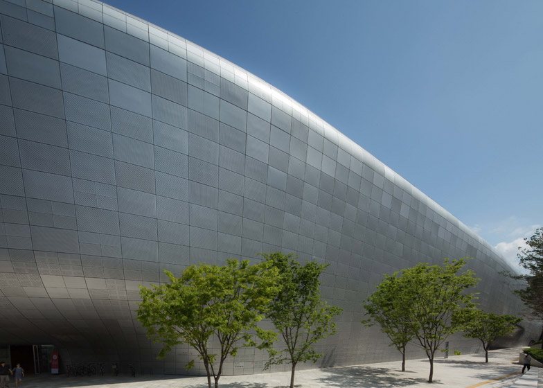 Zaha Hadid Seoul Design Center DDP