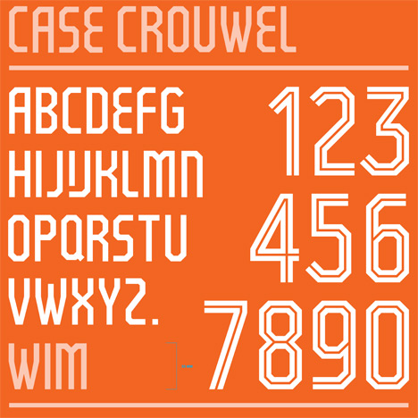 case-crouwel-dutch-football-kit-typeface