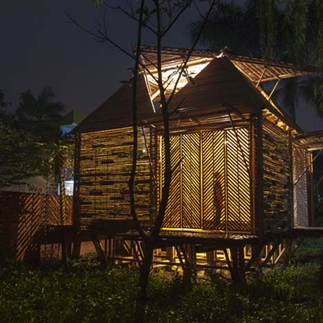 Dezeen's top 10 bamboo<br /> architecture projects