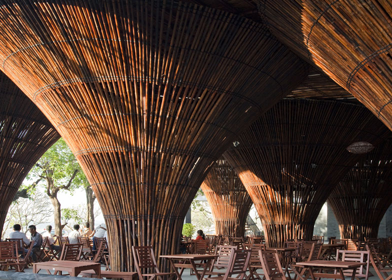 Dezeen's top 10 bamboo architecture projects