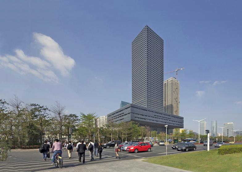Shenzhen Stock Exchange, China, by OMA