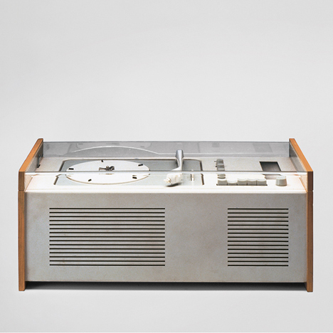 SK 4 record player, Dieter Rams and Hans Gugelot, 1956 Image Credit: Courtesy of Dieter Rams
