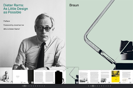 Screen shot from Dieter Rams: As Little Design as Possible. Image Credit: Phaidon Press