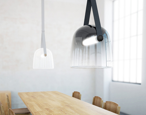 Mona lamp by Lucie Koldova for Brokis
