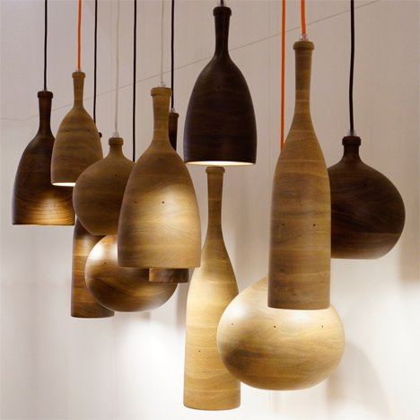 Three Wise Men Pendant Light by Samuel Chan for Channels