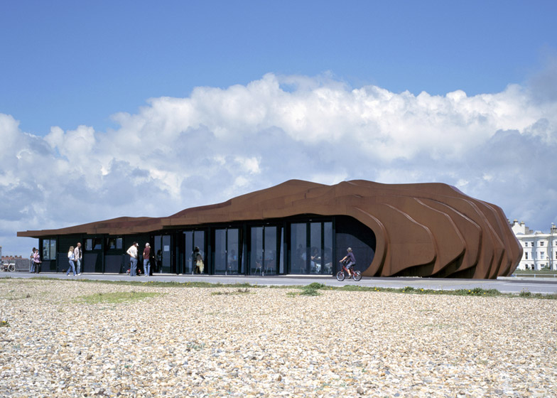 East Beach Cafe by Thomas Heatherwick. Photograph by Andy Stagg