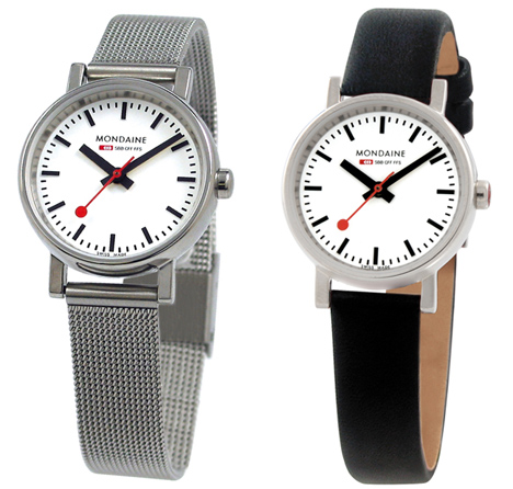 Evo Quartz Ladies in white/silver (left) and white/black (right)