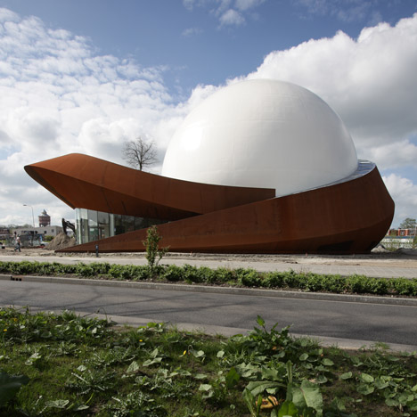 Infoversum at the University of Groningen by Archiview