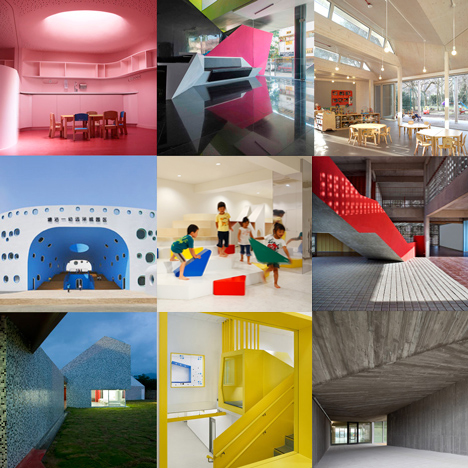 New Pinterest board: kindergartens and nurseries