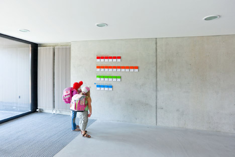school and gym by Zwimpfer Partner AG