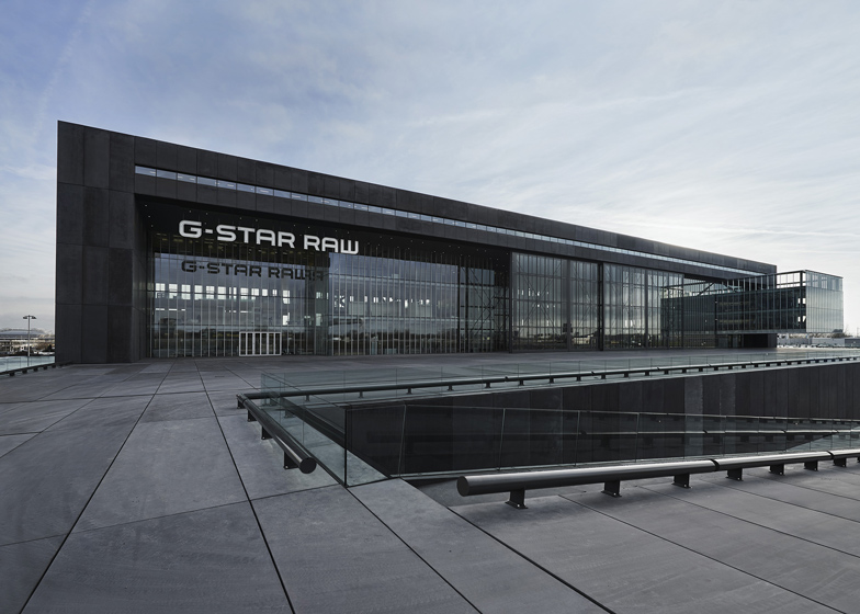 G-Star RAW HQ, Netherlands, by OMA