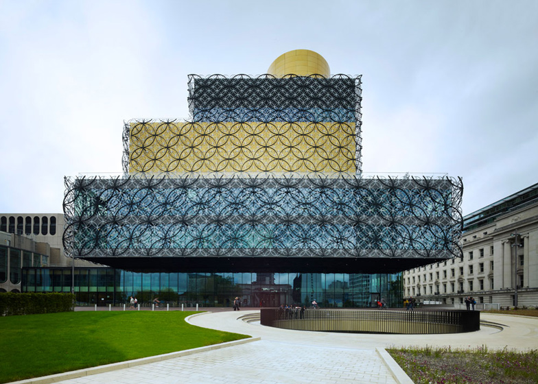 Library of Birmingham integrated with the Repertory Theatre, United Kingdom by Mecanoo – Completed Buildings, Culture category