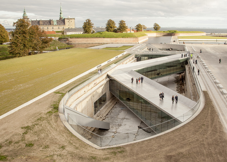 Danish Maritime Museum, Denmark, by BIG