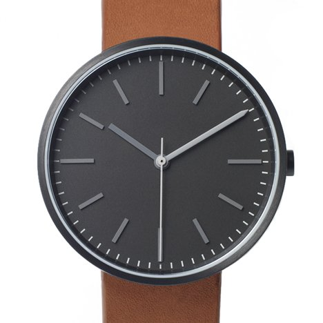 The new limited edition 104 Series by Uniform Wares in black/tan