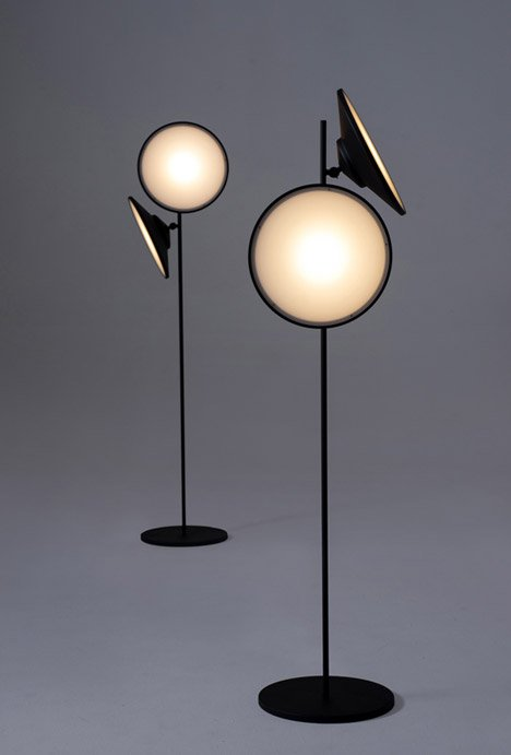 2 Moons lamps by Nir Meiri