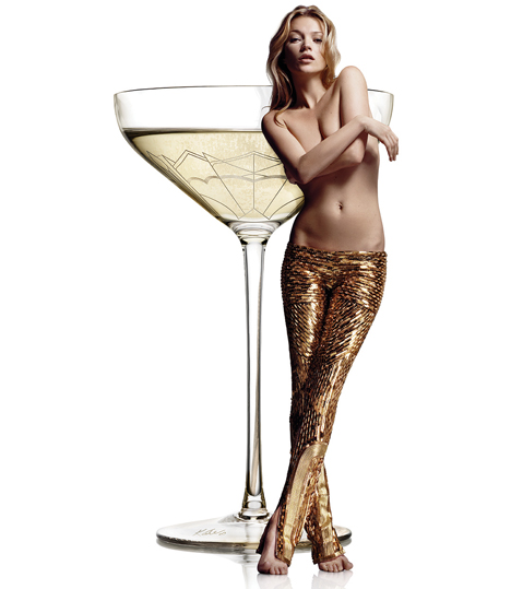 34 Kate Moss Champagne Coupe