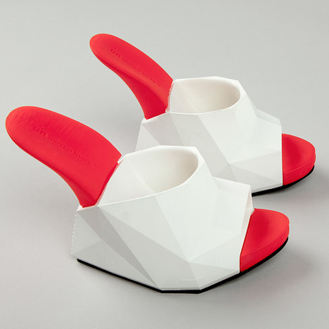United Nude's Float shoes are created<br /> on a desktop 3D printer
