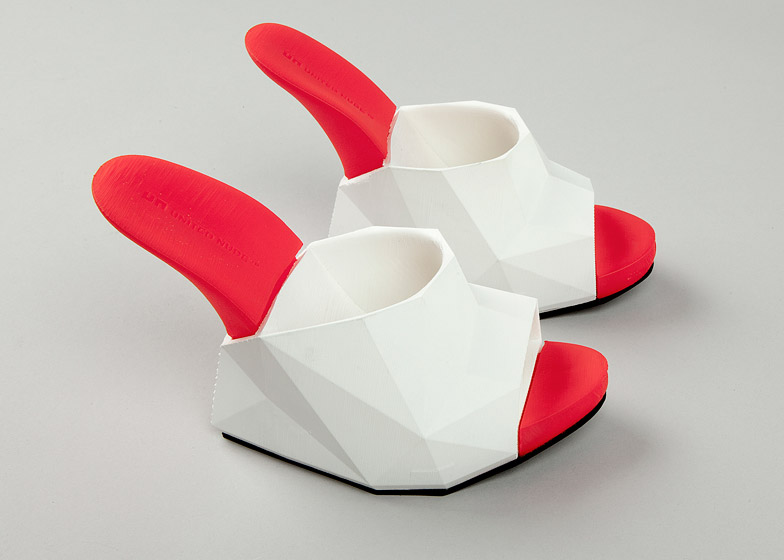 United Nude's Float shoes are created on a desktop 3D printer