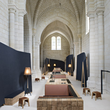 Abbey de Fontevraud by Patrick Jouin and Sanjit Manku