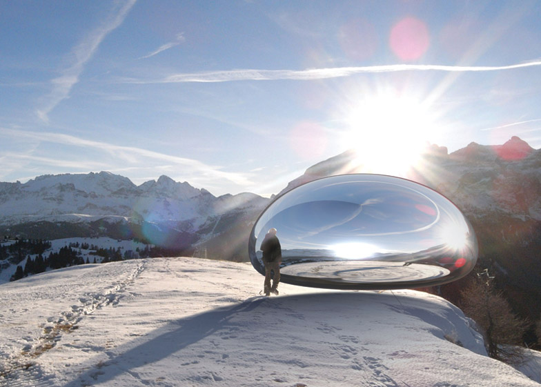 Alpine Capsule by Ross Lovegrove