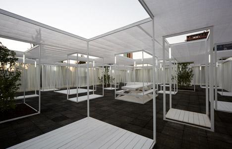 Ambient 30_60 pavilion by Umwelt