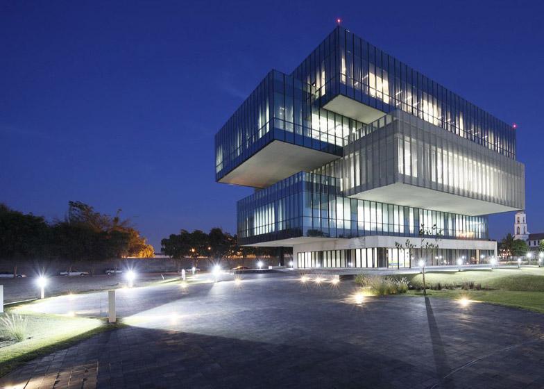 9 of 9; Bioinnova office block by Tatiana Bilbao