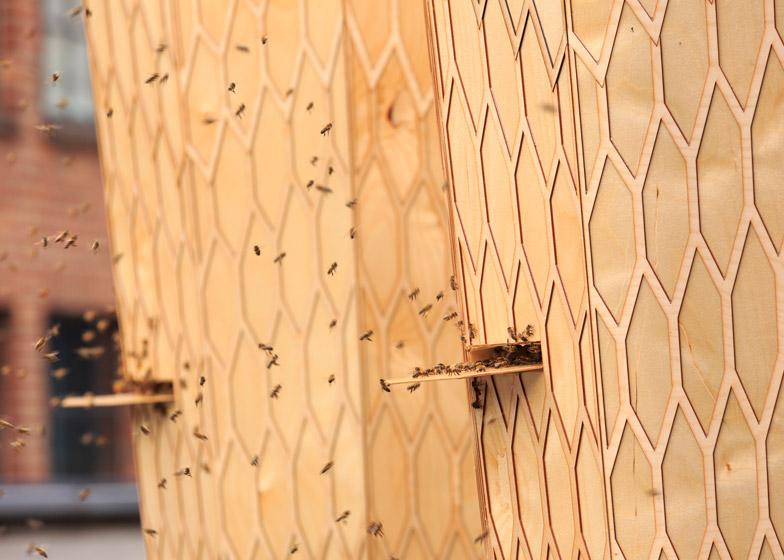 Beehives by Snohetta