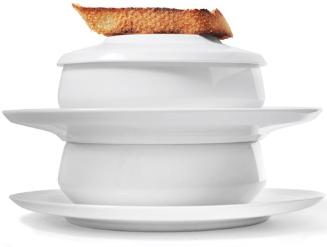 CF Moller stacking tableware