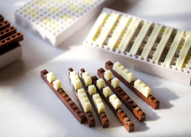 Chocolate Lego by Akihiro Mizuuchi