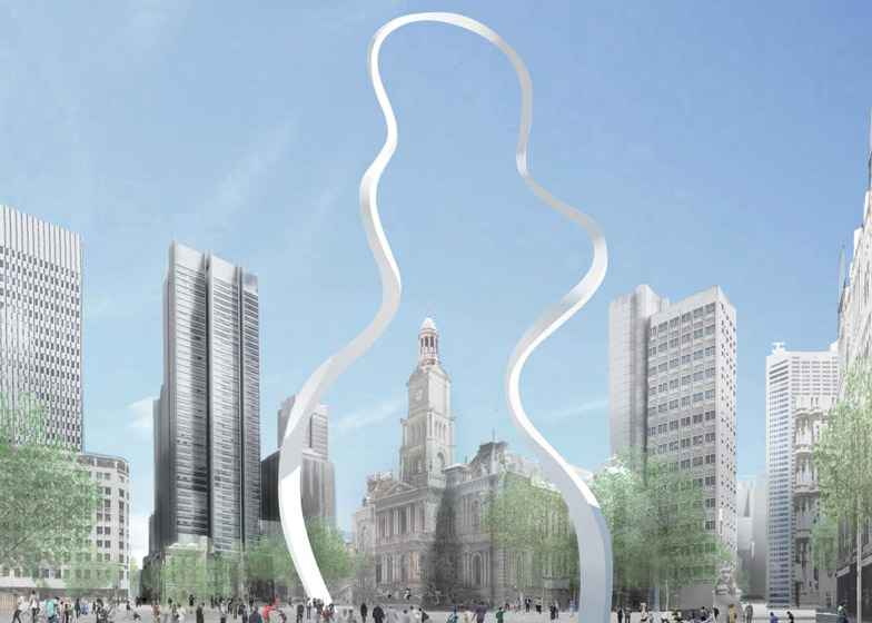 Cloud Arch by Junya Ishigami in Sydney