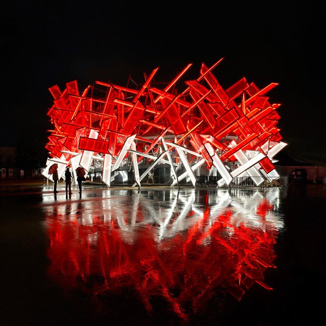 Coca Cola Beatbox pavilion by Pernilla Ohrstedt and Asif Khan