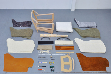 Upholstery components by Coakley & Cox