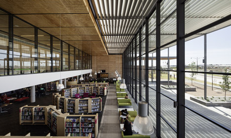 Craigieburn Library by Francis Jones Morehen Thorp