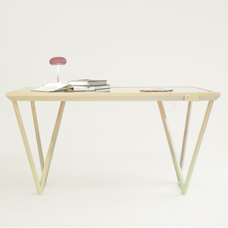 Current Table by Marjan van Aubel