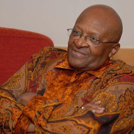 Desmond Tutu portrait