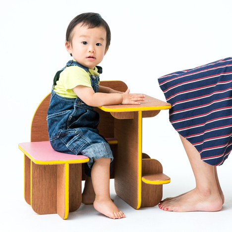 Torafu Architects designs multi-functional Dice furniture for children and adults