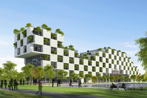 FPT University Technology Building by Vo Trong Nghia