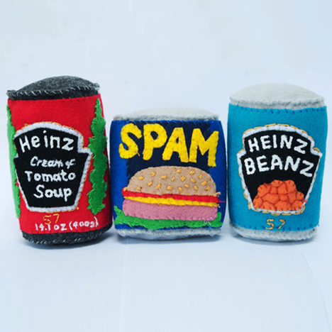 The Felt Cornershop by Lucy Sparrow
