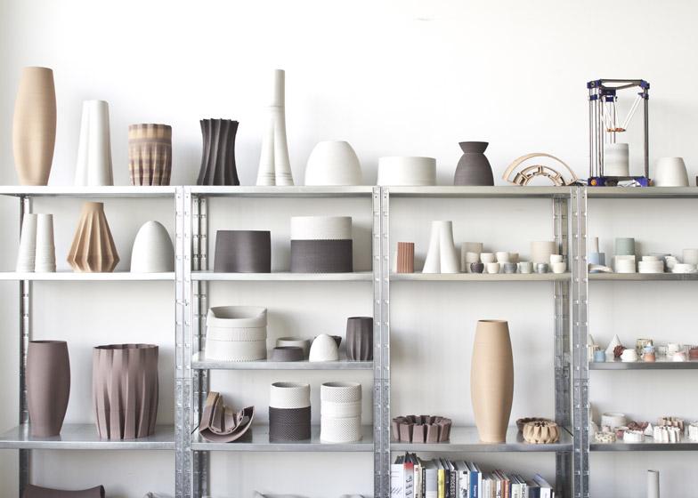 Functional 3D printed ceramics by Olivier van Herpt