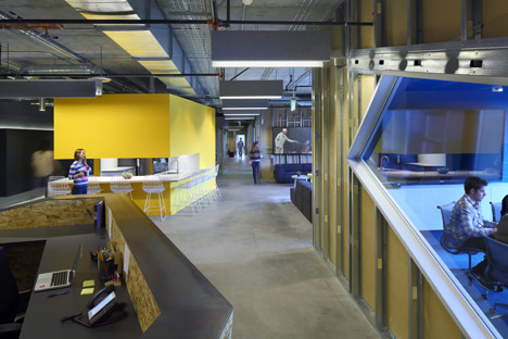 "Clive Wilkinson Architects brings ""quirky rawness"" to Funny or Die offices"