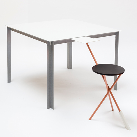 Office KGDVS explores strength of materials with prototype furniture