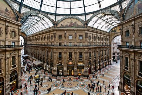 Galleria Vittorio Emanuele II – image courtesy of Shutterstock