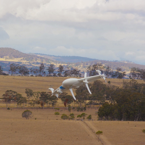 Google's Project Wing drone delivery system