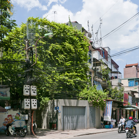 Green Renovation by Vo Trong Nghia offers verdant urban living