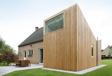 HOUSE AND Brussels loft by ADN Architectures
