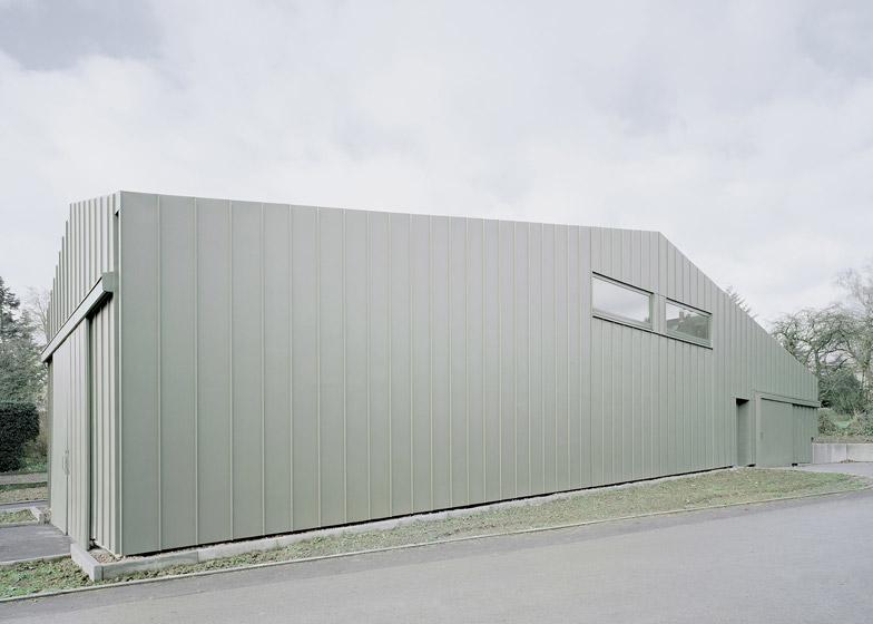 Hangar XS from Ecker Architekten