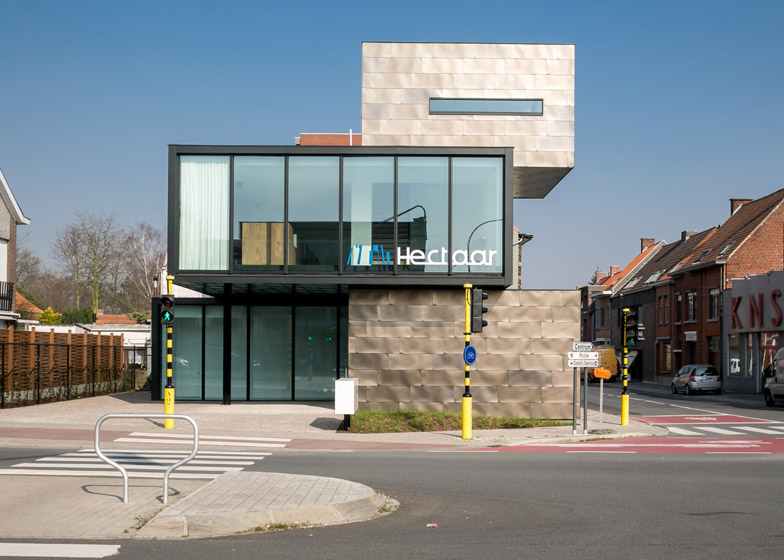 Hectaar office in Roeselaar by CAAN Architecten