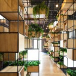 "Penda's indoor planting modules provide a ""green"